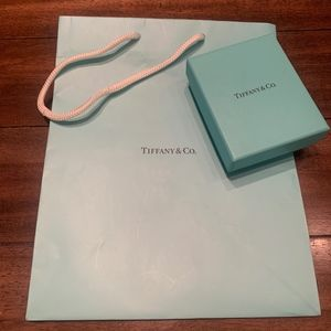 Tiffany & Co. Shopping Bag & Box
